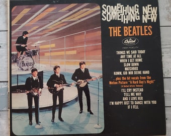 Vinyl: Something New, The Beatles, Free Shipping