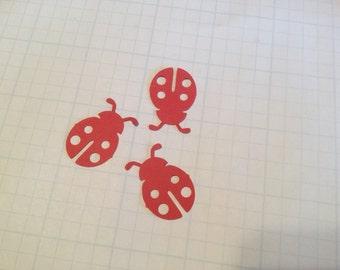 Die Cut Lady Bugs - Set of 48