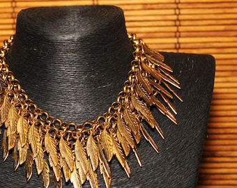 Glowing Phoenix Necklace statement necklace tribal jewelry
