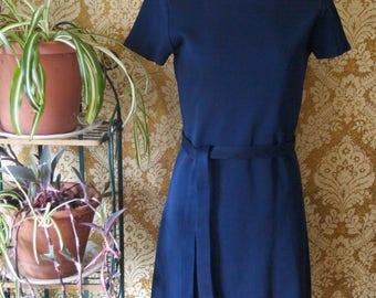 Vintage 1960s Pantempos by Sportempos Belted Dress