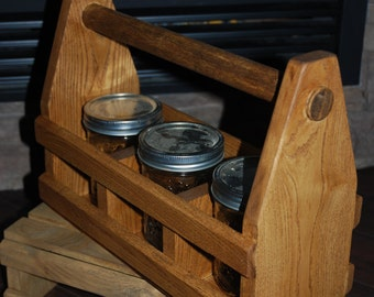 Carry along wood crate