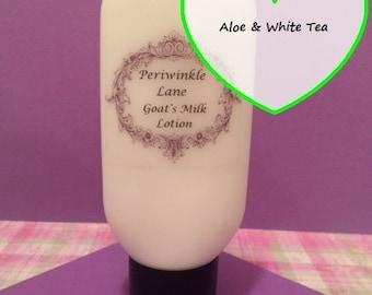 Aloe & White Tea Goat's Milk Lotion