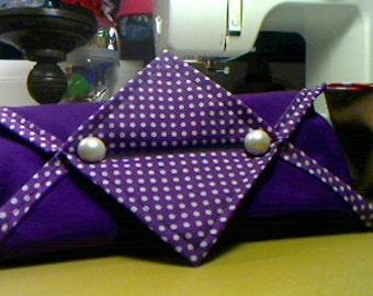 Sewed tissue cover, dispenser, holder