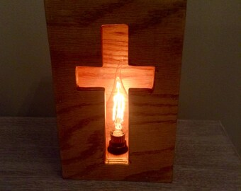 Cross Cut-out Box Lamp