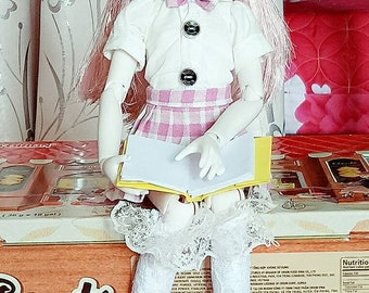 School uniform for bjd 1/4