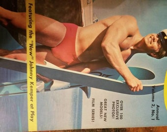 Champ Magazine  ,Beef cake,adult,gay male 1960s,annual volume 2,no.1