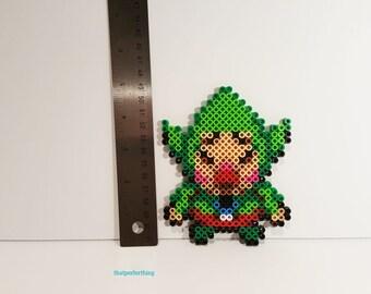 Tingle from Legend of Zelda Perler