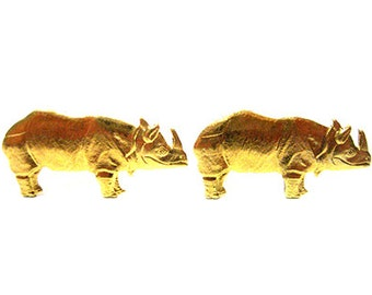 Rhino Cufflinks