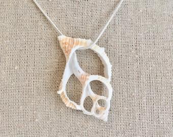 beach jewelry, beachcomber mermaid necklace
