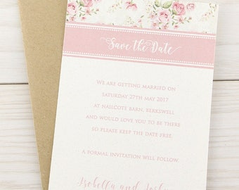 SAMPLE * Clara Save the Date Cards