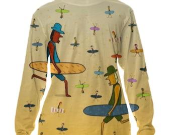 Surfer Dudes Long-sleeve T-shirt