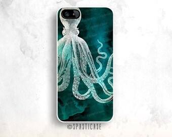 Octopus iPhone 6 Case, Nautical iPhone 6 Case,iPhone 5S Octopus, iPhone SE Case, iPhone 6 Nautical Case,iPhone 6 Plus Beach Case, iPhone 5