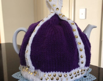 Knitted Teacosy fits a 4-6 cup pot perfect mother's day gift
