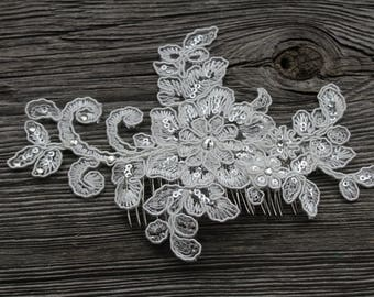 Headpiece Ivory Floral