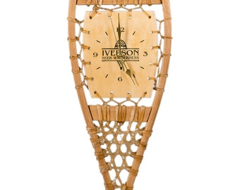 Snowshoe Clock