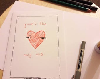 The only one (vomit day card)