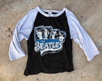70's The Beatles vintage raglan