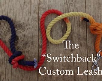 """Custom """"Switchback"""" Leash"""