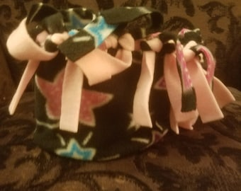 Women's HatBand Stars with yellow or light pink