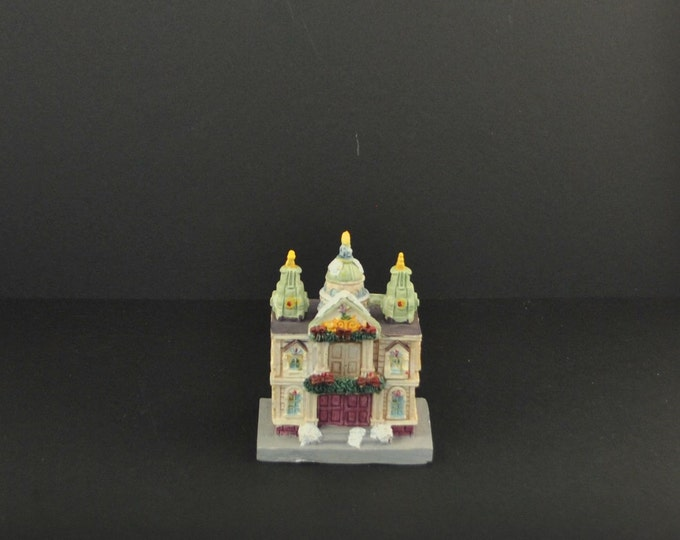 Vintage Cathedrals of the World, St. Panl's Cathedral, London England, by GINY Inc.,1991, Handcrafted, Replica, Church, English Cathedral