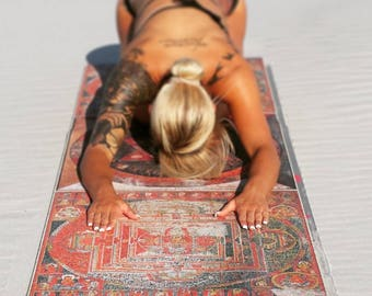 Tibetan Traditions Custom Designed Yoga Mat