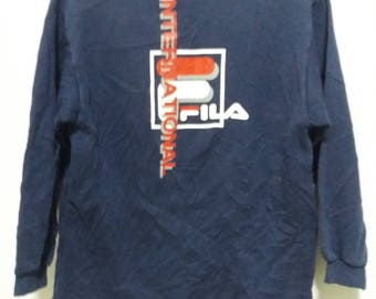 Vintage Fila International Sweatshirt Sweater