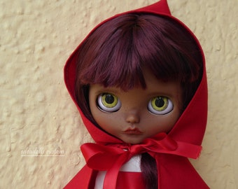 Little Riding Hood, custom Blythe Edeadolls. Fake-TBL.