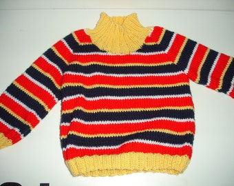 Custom knitted Ernie sweater for Adults / Men / Women
