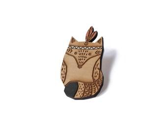 SIOUX BEW Fox brooch