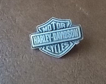 Vintage~Harley Davidson Pin~Harley Jewelry~Biker accessorie~Motorcycle Pin~Genuine Harley Pin~CLASSIC  BAR and SHIELD