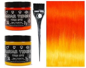 DIY Ombre Orange Hair Dye KIt
