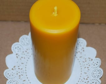 100% Pure Beeswax candles - beeswax Pillar Candles - Pure Beeswax - Handmade candle - premium quality
