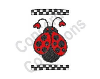 Ladybug - Machine Embroidery Design