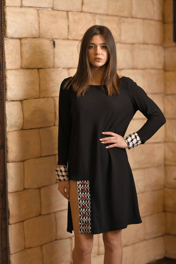 Black Nick Party Comfy Midi Dress SIZE Summer Style Wear Designer High Street Flowy Little Casual Stylish PLUS Loose Dress Dresses SqY8S