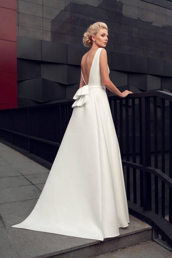 modern wedding gown modern wedding dress elegant wedding