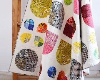 Flower Power Quilt Blanket