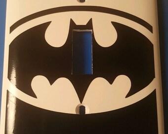 Batman/Bruce Wayne Light Switch Cover