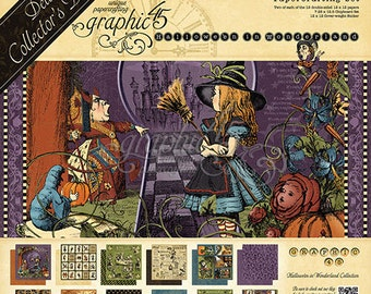 Graphic 45 Hallowe'en in Wonderland 2016 Deluxe Collector's Edition