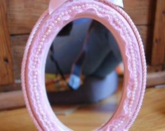 Mirror shabby romantic pink