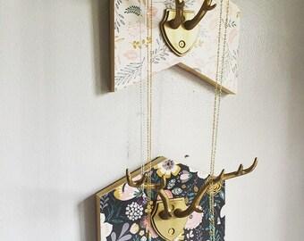 Antler Jewelry Holder, Antler jewelry hanger, jewelry hanger, jewelry holder, jewelry storage