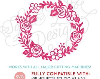Dandelion Flower Svg Dxf Png Digital Download File Silhouette