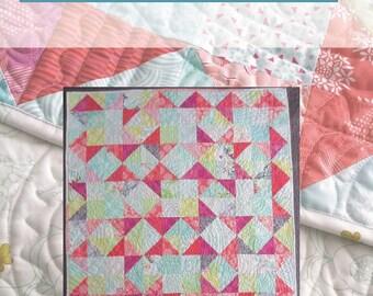 Enid's Garden Quilt Pattern - PDF