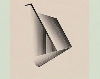 Geometric Art, Minimalist Art, Large Wall Art, Mid Century Wall Art, Modern Wall Art, Abstract Print - LImited Edition (20)
