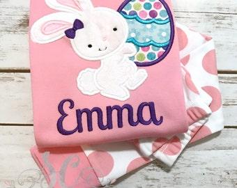 Easter Pajamas - Girls Easter Pajamas - Kids Pajamas - Personalized Pajamas