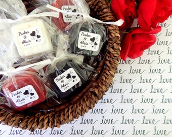 Wedding Heart Favors Guest Soap Favors Personalized Heart Bridal Shower Favors Heart Baby Shower Favors Gift for Guests Thank You Favors