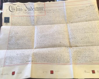 Indenture Dated 14th February 1851