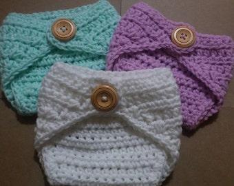 Crochet Diaper Cover, Choose Your Color, Newborn Diaper Cover, Baby Diaper Cover, Diaper Cover, Boy Diaper Cover, Girl Diaper Cover