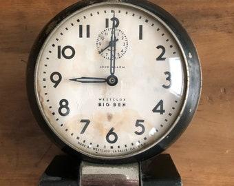 Vintage Big Ben Alarm Clock Westclox