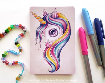 Candy Pop Licorne - Fantasy 4 x 6 cartes postales Postcrossing Snail Mail
