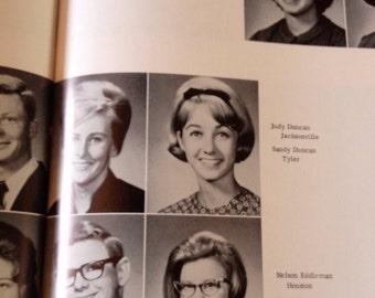 SANDY DUNCAN yearbook 1965 Lon Morris College